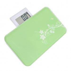 Portable Body Weighing Bathroom Scales Green