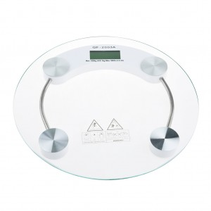 Digital Tempered Glass Body Weight Scale - 180Kg