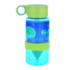 Flavored Water Bottle Infuser BPA Free - Green