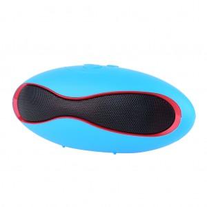 U6 Capsule Wireless Bluetooth Portable Stereo Speaker - Blue