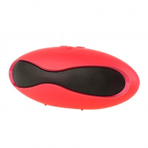 U6 Capsule Bluetooth Wireless WLAN Portable Stereo music Player Speaker-Red