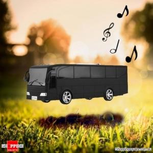 Portable Digital Speaker Tour Bus Design - Black