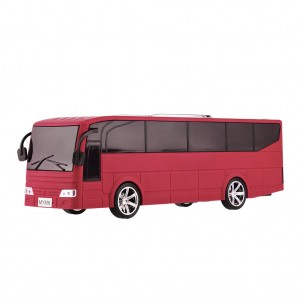 Portable Digital Speaker Tour Bus Design - Red