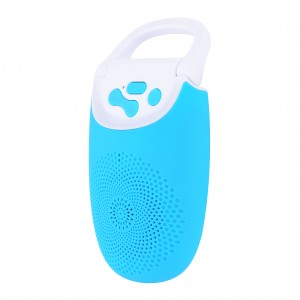 Portable Bluetooth Speaker with Music Hands Free support TF Card - Blue