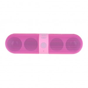 Portable Stereo Bluetooth Speaker - Pink