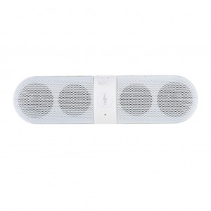 Portable Stereo Bluetooth Speaker Handfree FM Radio- White