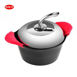 3 qt. Aluminum Stock Pot Nonstick Coating Cookware