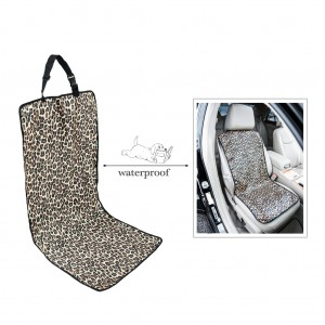 Universal Bucket Seat Cover for Pets/Dog Travel Waterproof - Leopard Print