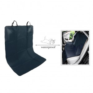 Waterproof Pet Rear Back Seat Cover Protector - Black