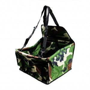 Waterproof Front Bucket Seat Cover for Pets/Dog Travel Hammock Oxford - Camouflage