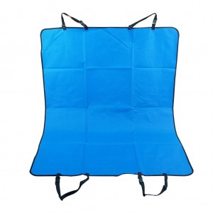 Pet Rear Back Seat Covers Waterproof Protector Hammock Cover Mat- Blue