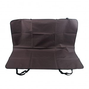 Pet Rear Back Seat Covers Waterproof Protector Hammock Cover Mat - Brown