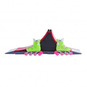 Kids Finger Skating Shoes Spine Play Set