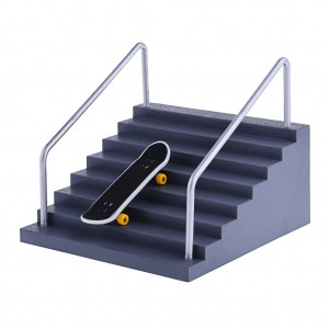 Finger Skateboard Skatepark Set - Handrail Stair & Ramp