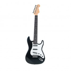 Kid's Electric Guitar Toy Musical Instrument Rock Band - Black