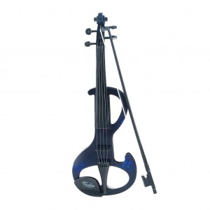 4 String Electric Toy Violin Musical Instrument for Kids - Blue