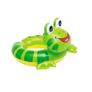 Intex Frog Head Inflatable Swim Ring for Kids