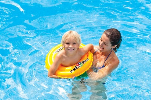 """Intex 20"""" Inflatable Swim Ring with Double Air Chamber"""