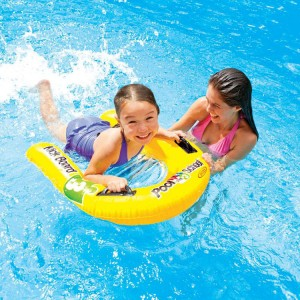 Intex Inflatable Kickboard for Kids with Three Safety Air Chambers