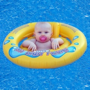Intex Inflatable Baby Swim Seat with Double Safety Air Chambers