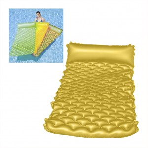 Bestway Inflatable Floating Bed with Pillow/Double Safety Air Chambers