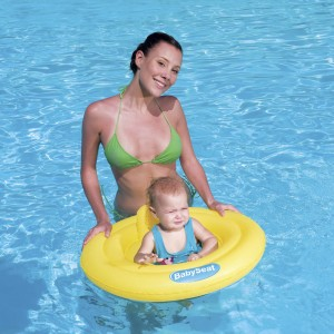 Bestway Inflatable Baby Swim Seat with Three Safety Air Chambers