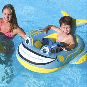 Bestway Inflatable Raft with Shark-shaped Style