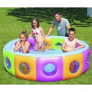 Bestway Circular Multi-colored Inflatable Baby Pool