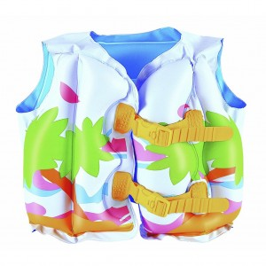 Bestway Inflatable Life Vest for Kids with Double Safety Air Chambers
