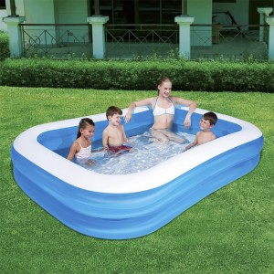 Bestway Cuboid Inflatable Baby Pool with Double Air Chambers