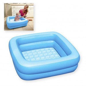 Bestway Inflatable Cuboid Baby Pool with Double Safety Air Chambers