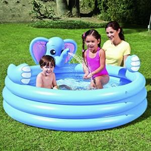 Bestway Elephant-shaped Inflatable Baby Pool Spray Bath Tub
