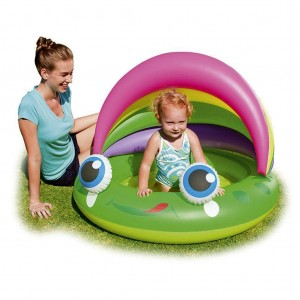 Bestway Frog-shaped Inflatable Baby Pool