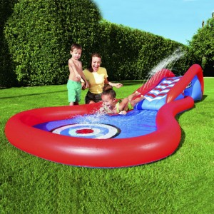Bestway Inflatable Water Slide with Surfing Rider
