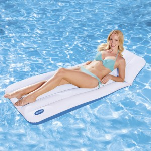 Bestway Inflatable Raft with Pillow/Double Safety Air Chambers