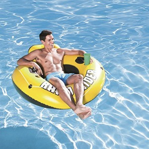 Bestway Floating Single Inflatable Chair with Backrest