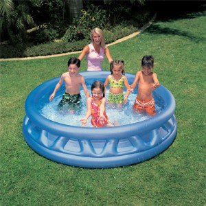 666L Intex Flying Saucer Shaping Inflatable Baby Pool Kid Play