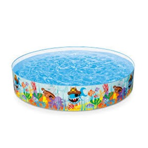 "Intex 2089L Inflatable Baby Pool Circular Bath Tub 96"" x 18"""