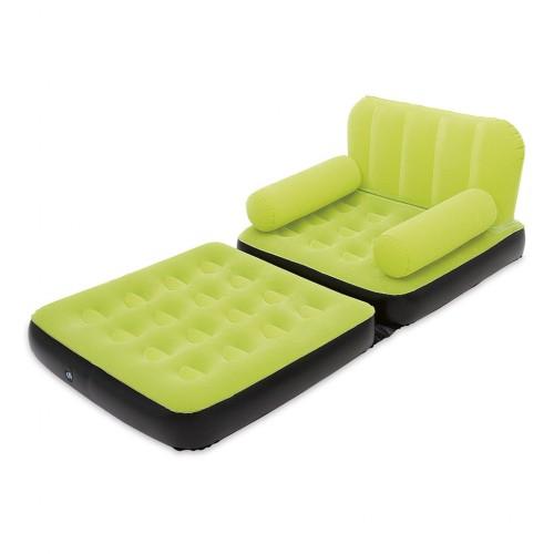 Bestway 2 in 1 Flocking Inflatable Sofa