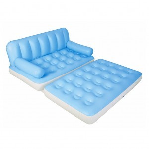 Bestway 5 in 1 Flocking Inflatable Sofa