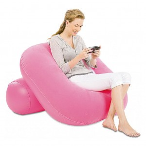 Bestway Inflatable Sofa Flocking Single Couch