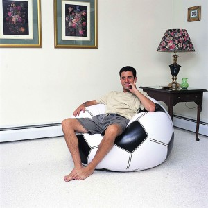 Bestway Football Shaping Inflatable Sofa