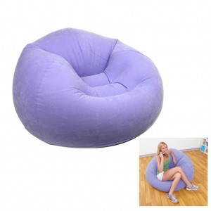 "Intex Inflatable 42"" x 41"" x 27"" Sofa Flocking Single Couch Chair - Purple"