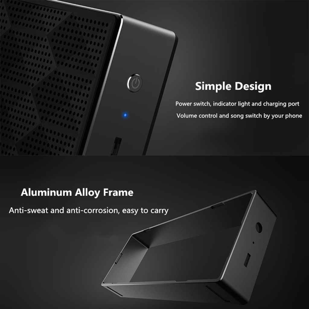 Xiaomi Mi Portable Bluetooth Wireless Stereo Mini Speaker Black Package Contents 1 X User Manual