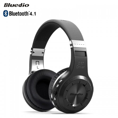 BLUEDIO H+  Bluetooth 4.1 Wireless Gaming Headphones Headset with Mic Black Colour