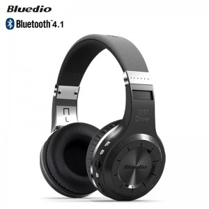 BLUEDIO H+ Bluetooth 4.1 Wireless Headphones Gaming Headset with Mic