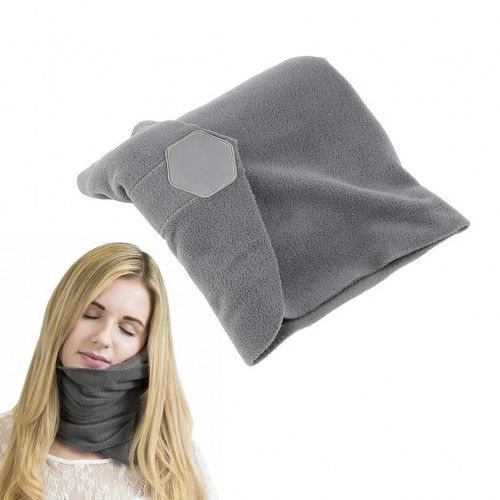 Neck Support Ultra-Soft Ergonomic Sleeping Rest Pillow For Travel Flight Airplane
