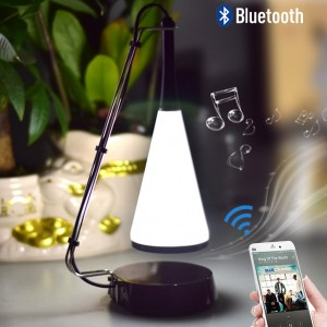 2 in 1 Mini Bluetooth Music Speaker Touch Sensor Table Lamp
