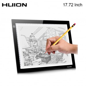 HUION L4S Ultra-slim LED Light Tracking Drawing Pad For Art Design