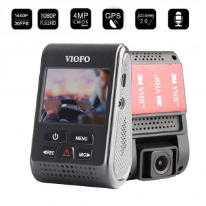 VIOFO A119 1440P HD Car Dash DVR Camera with GPS Module